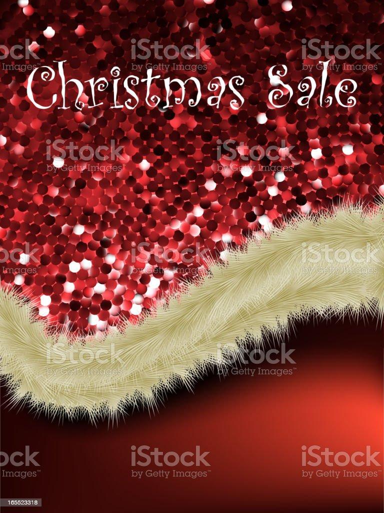 Christmas sale card templates. EPS 8 royalty-free stock vector art
