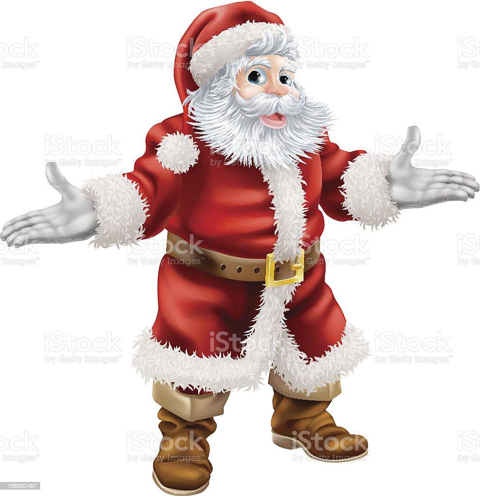 Christmas Santa Claus royalty-free stock vector art