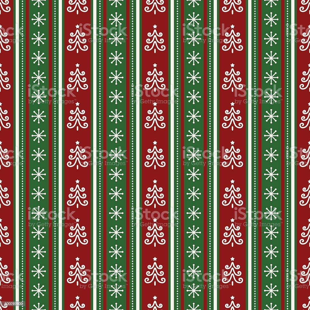 Christmas seamless pattern. Vector background. vector art illustration