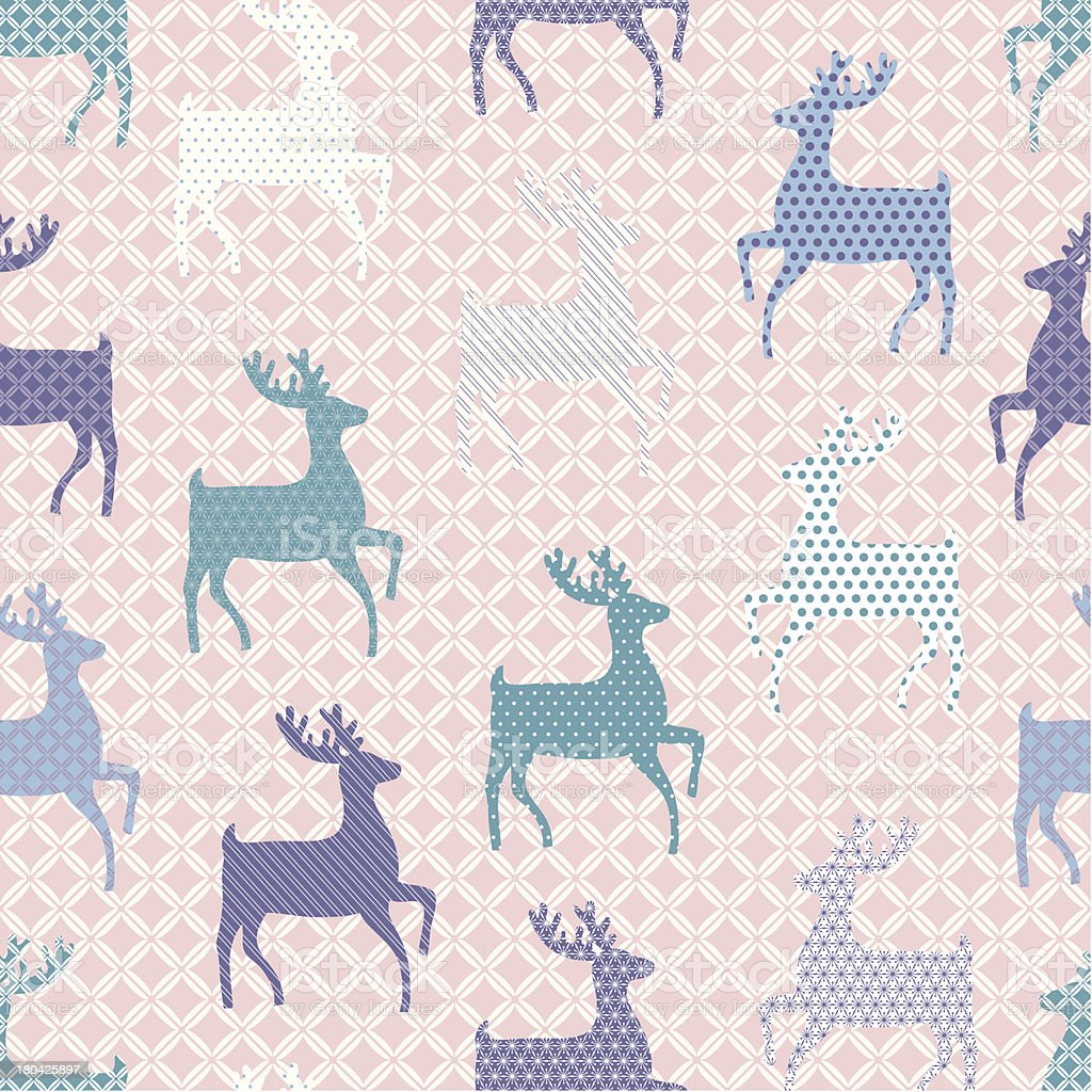Christmas seamless pattern royalty-free stock vector art