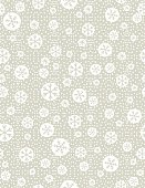 Christmas seamless pattern with snowflakes,  vector