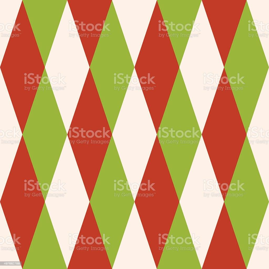 Christmas Seamless Vector Pattern 12 vector art illustration