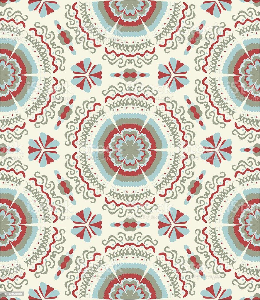 Christmas seamless wallpaper royalty-free stock vector art