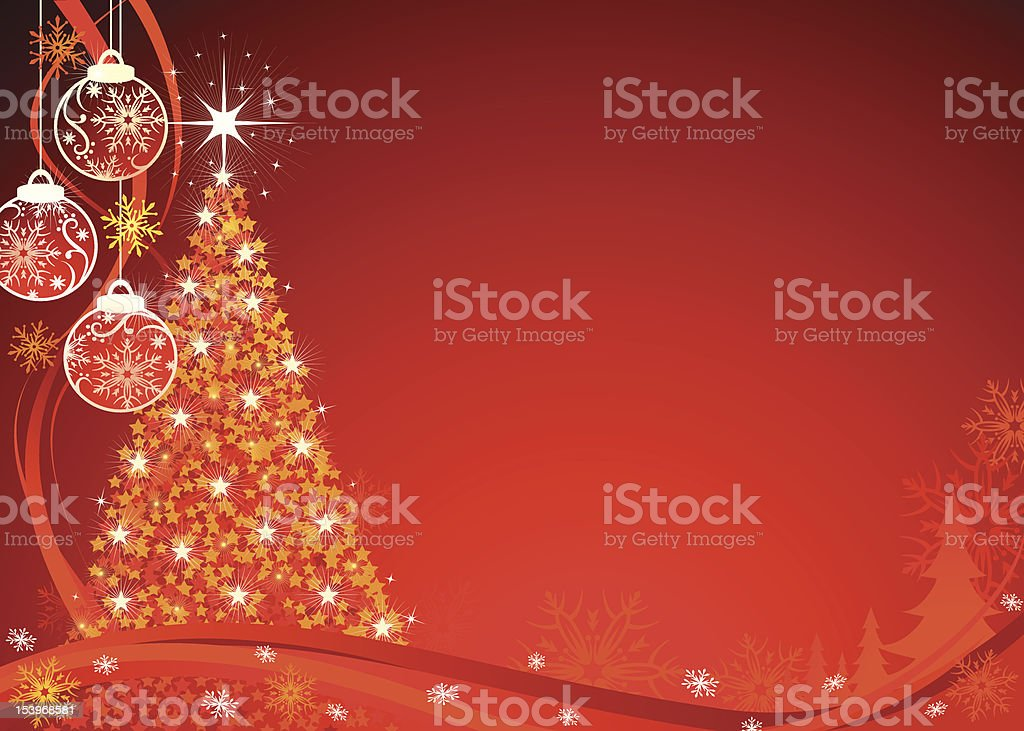 Christmas Seriers | Tree royalty-free stock vector art