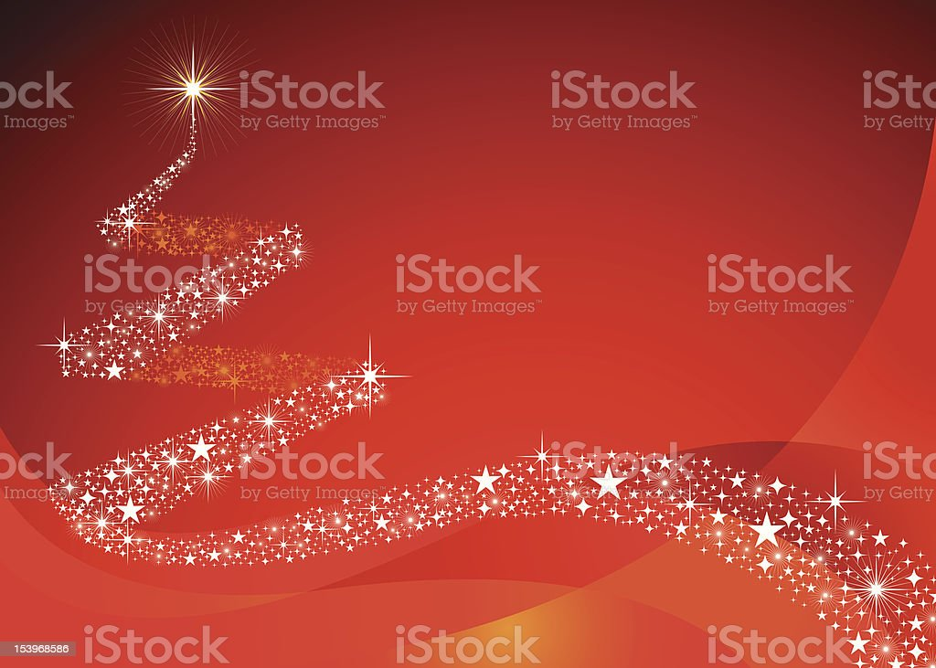 Christmas Seriers | Tree vector art illustration