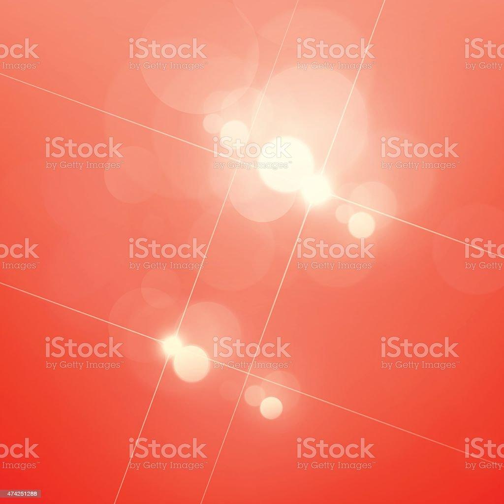 Christmas Star Light Bokeh Lens Flare Defocus Lights Vector Background vector art illustration