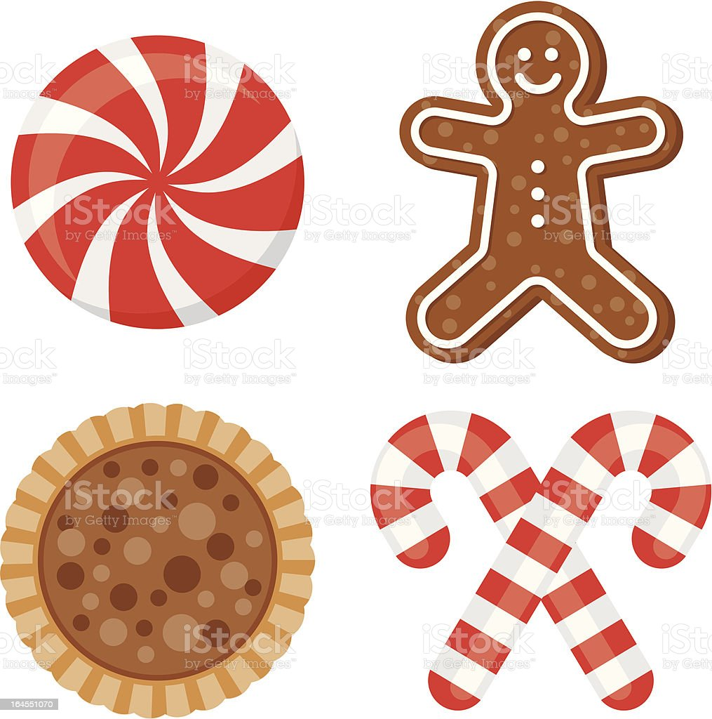 Christmas Sweets royalty-free stock vector art