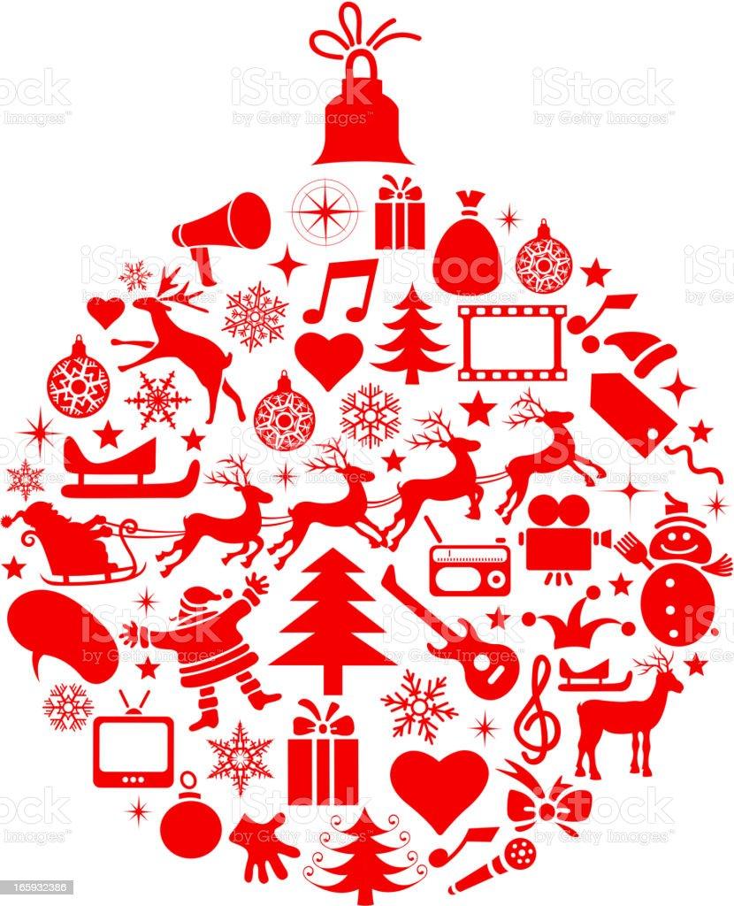 christmas symbols royalty-free stock vector art