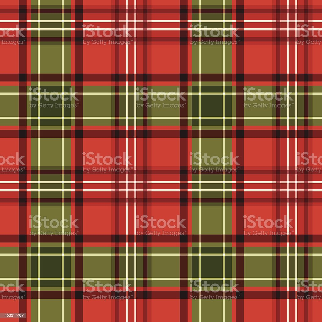 Christmas tartan. Vector seamless pattern. vector art illustration