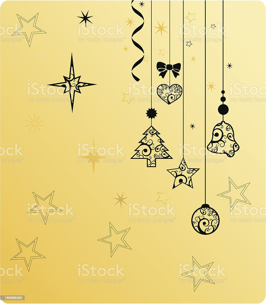 Christmas Time Background royalty-free stock vector art