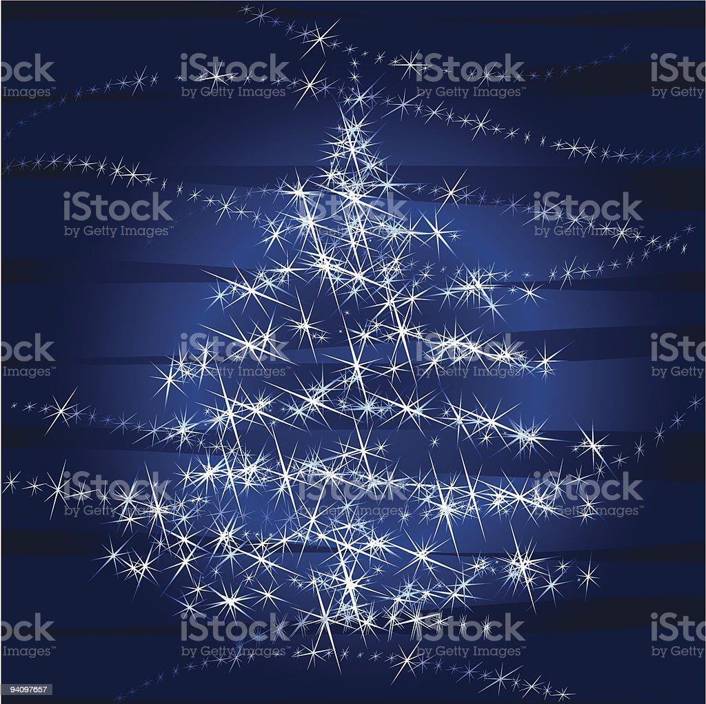 Christmas Tree Lights royalty-free stock vector art