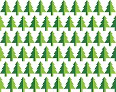 Christmas tree Seamless pattern. Vector Illustration. fir tree symbol.