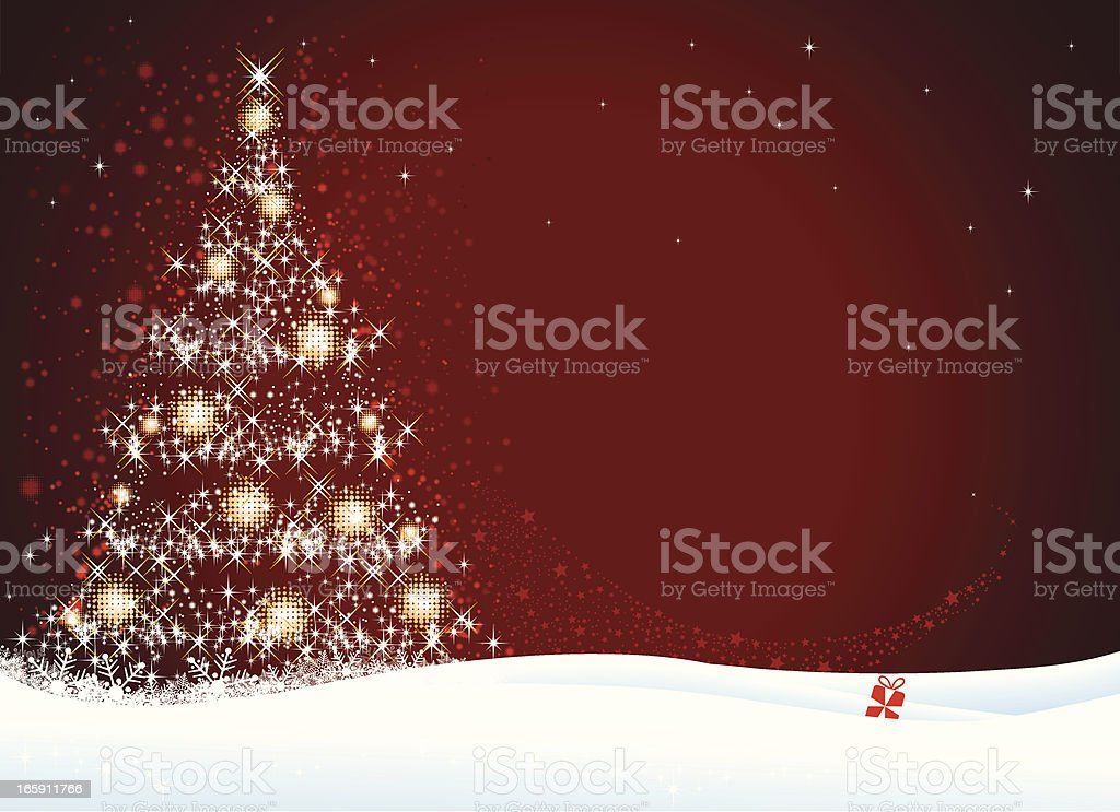 Christmas Tree royalty-free stock vector art