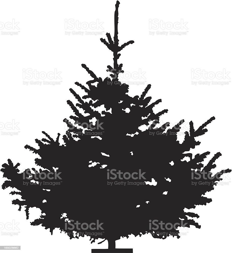 Christmas tree, Vector royalty-free stock vector art