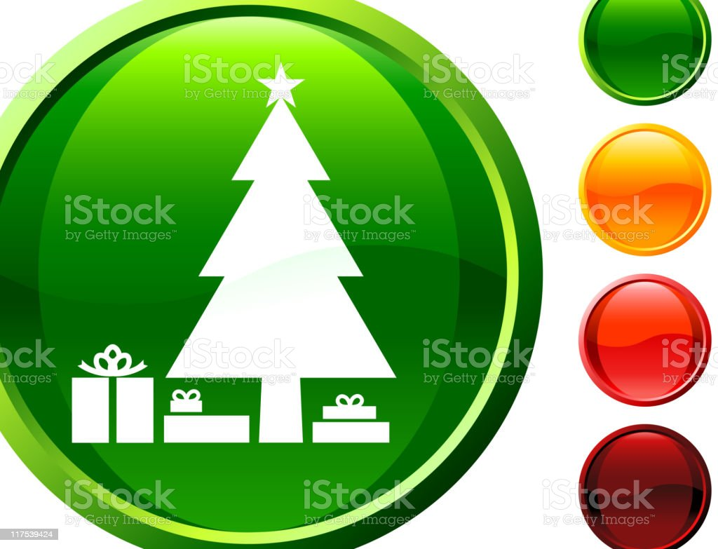 Christmas tree with presents internet royalty free vector art royalty-free stock vector art