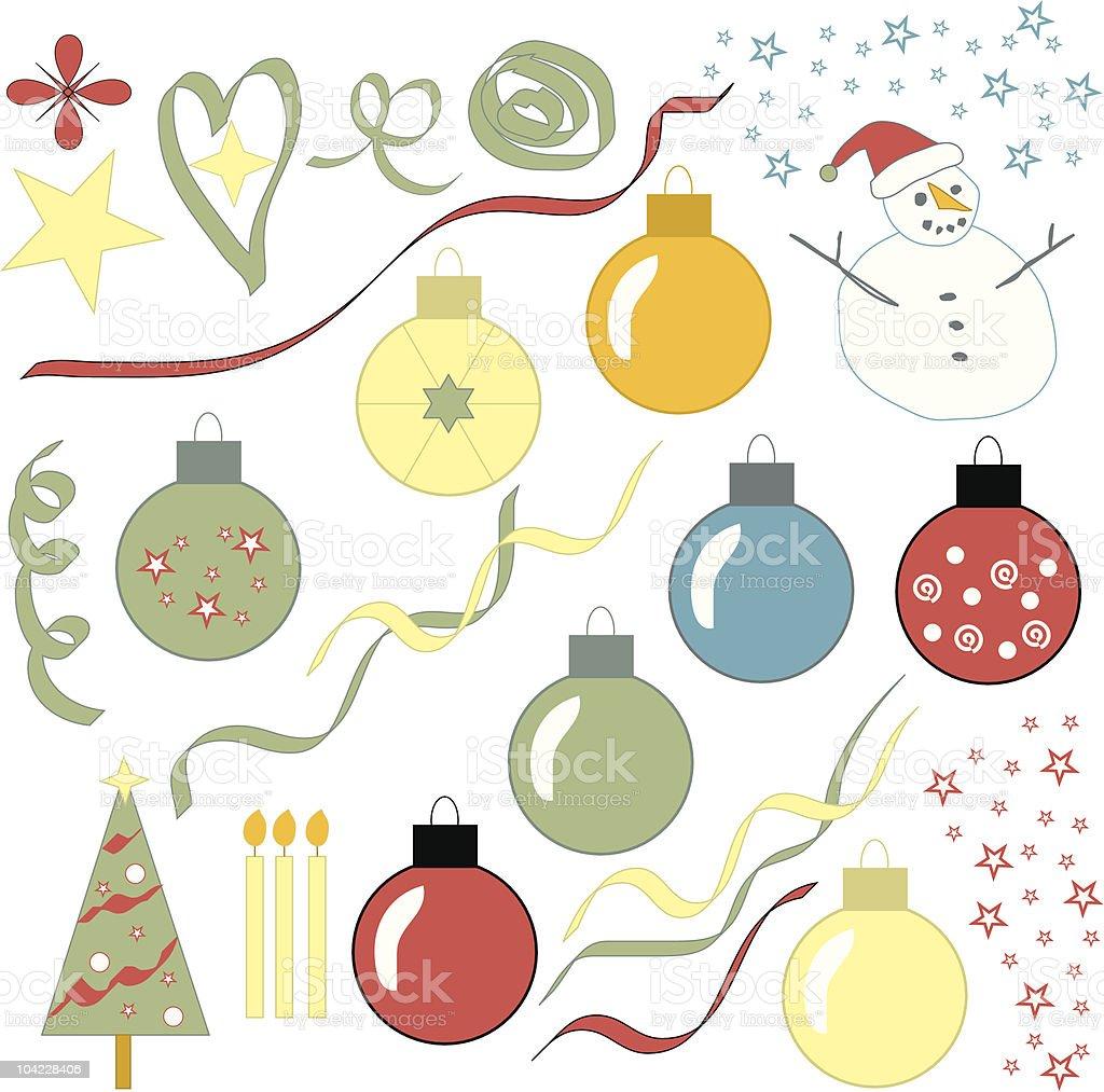 Christmas Vector Bonus Pack royalty-free stock vector art