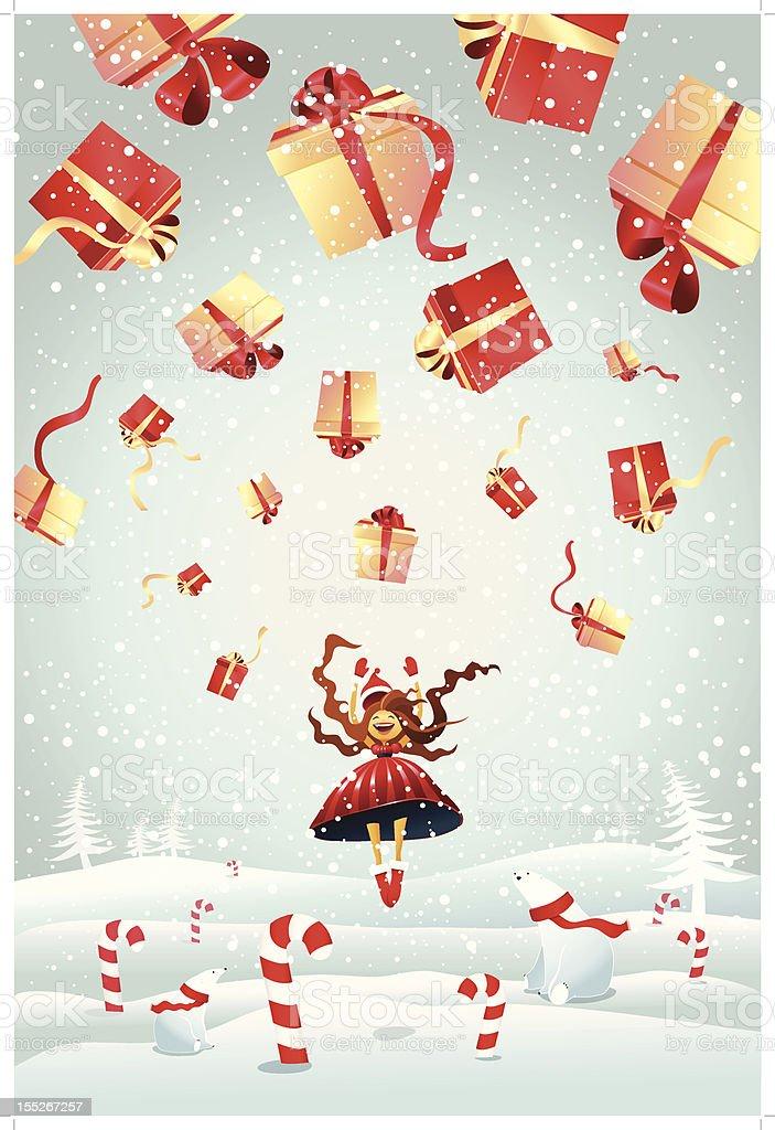 Christmas wish royalty-free stock vector art