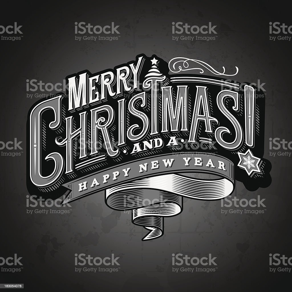 Christmas Wishes 4 vector art illustration