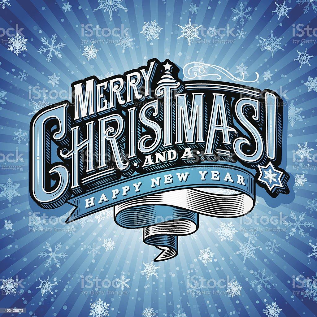 Christmas Wishes 5 vector art illustration