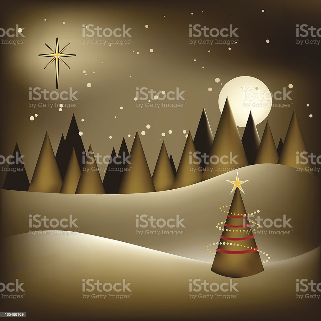 Christmas Wishes royalty-free stock vector art