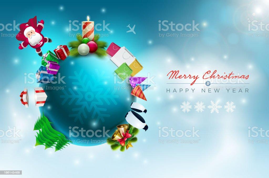 Christmas World royalty-free stock vector art