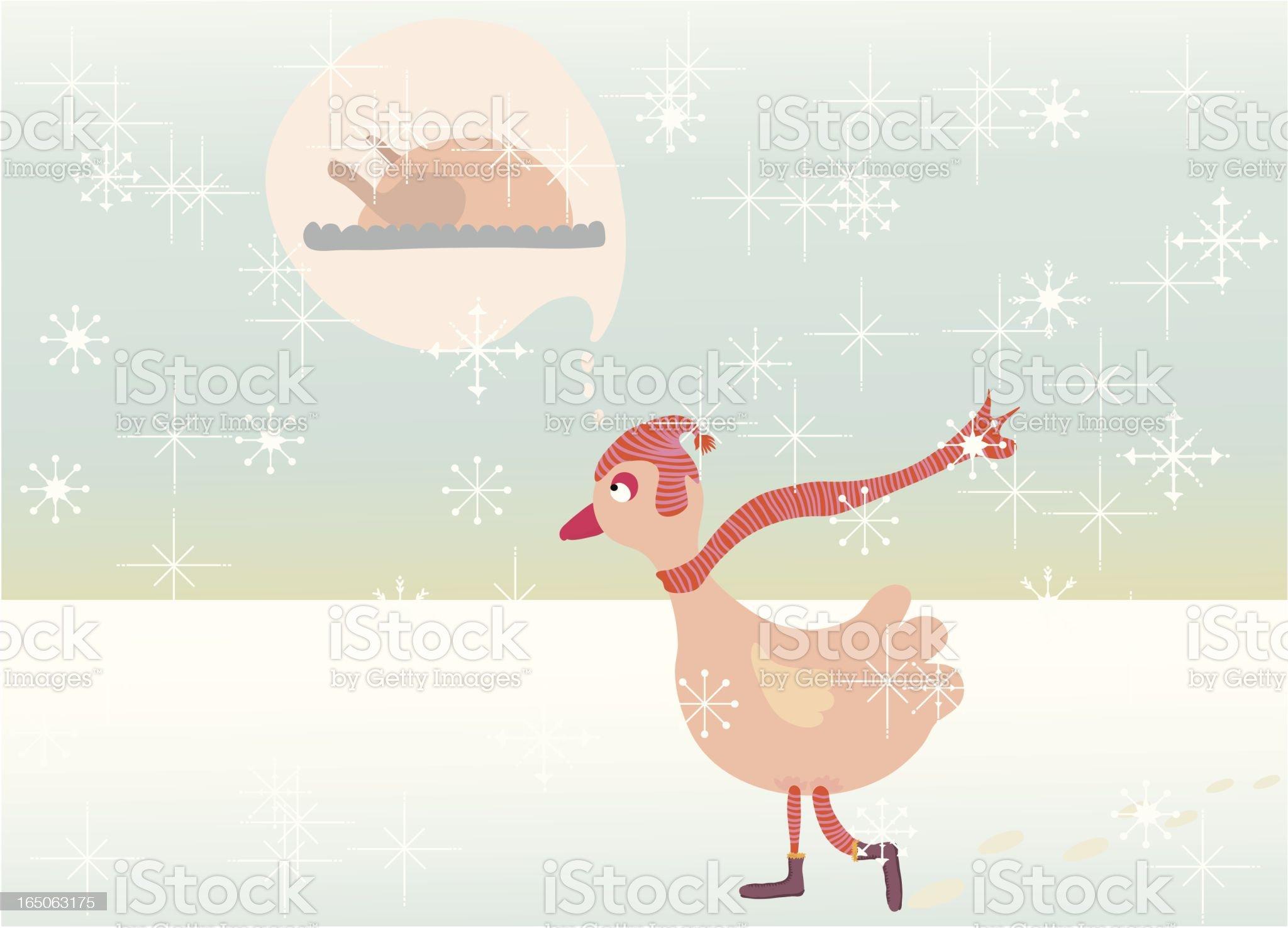 christmas worries royalty-free stock vector art