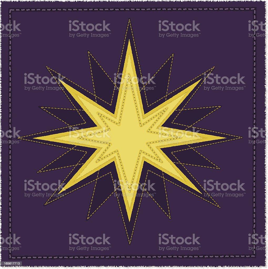 Christmas/North Star royalty-free stock vector art