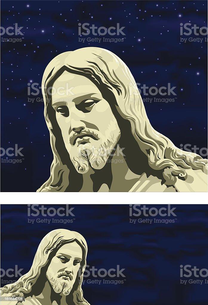 Christus Statue royalty-free stock vector art