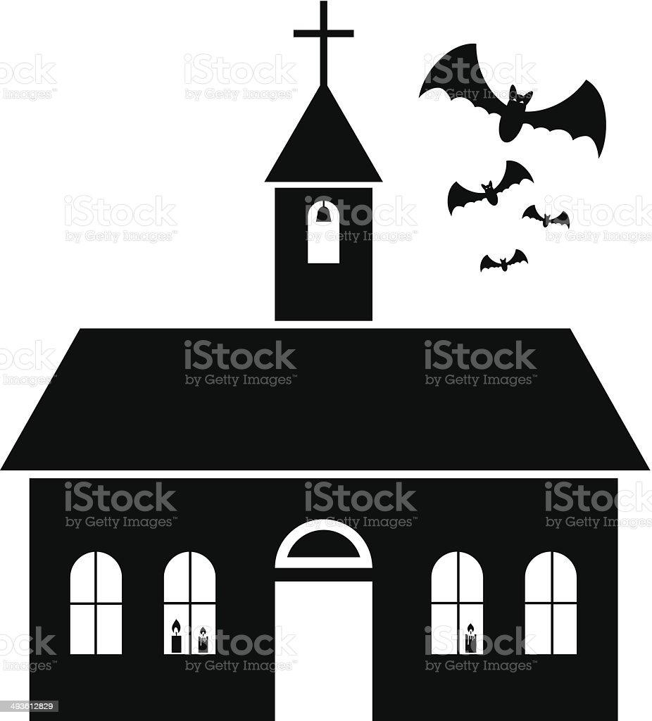 Church icon royalty-free stock vector art