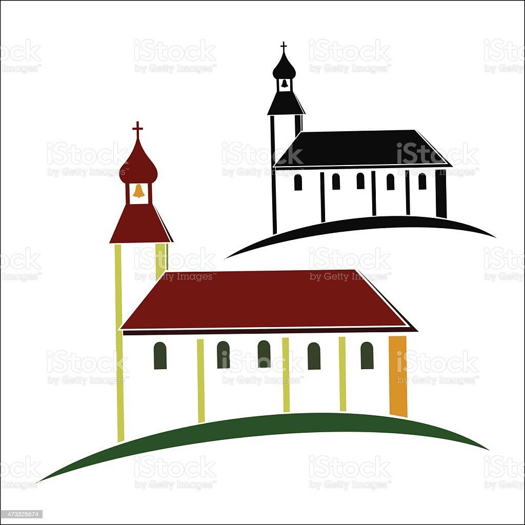 Church symbol royalty-free stock vector art