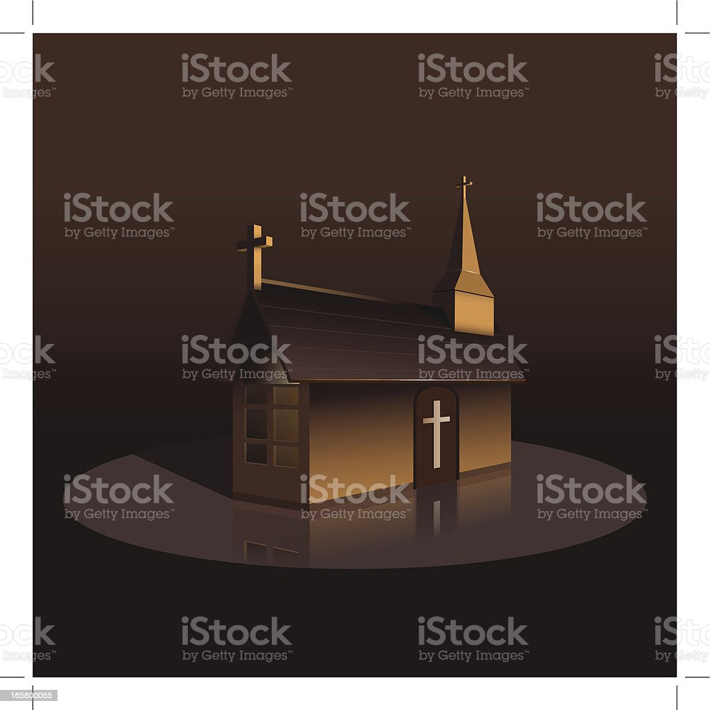 Church royalty-free stock vector art