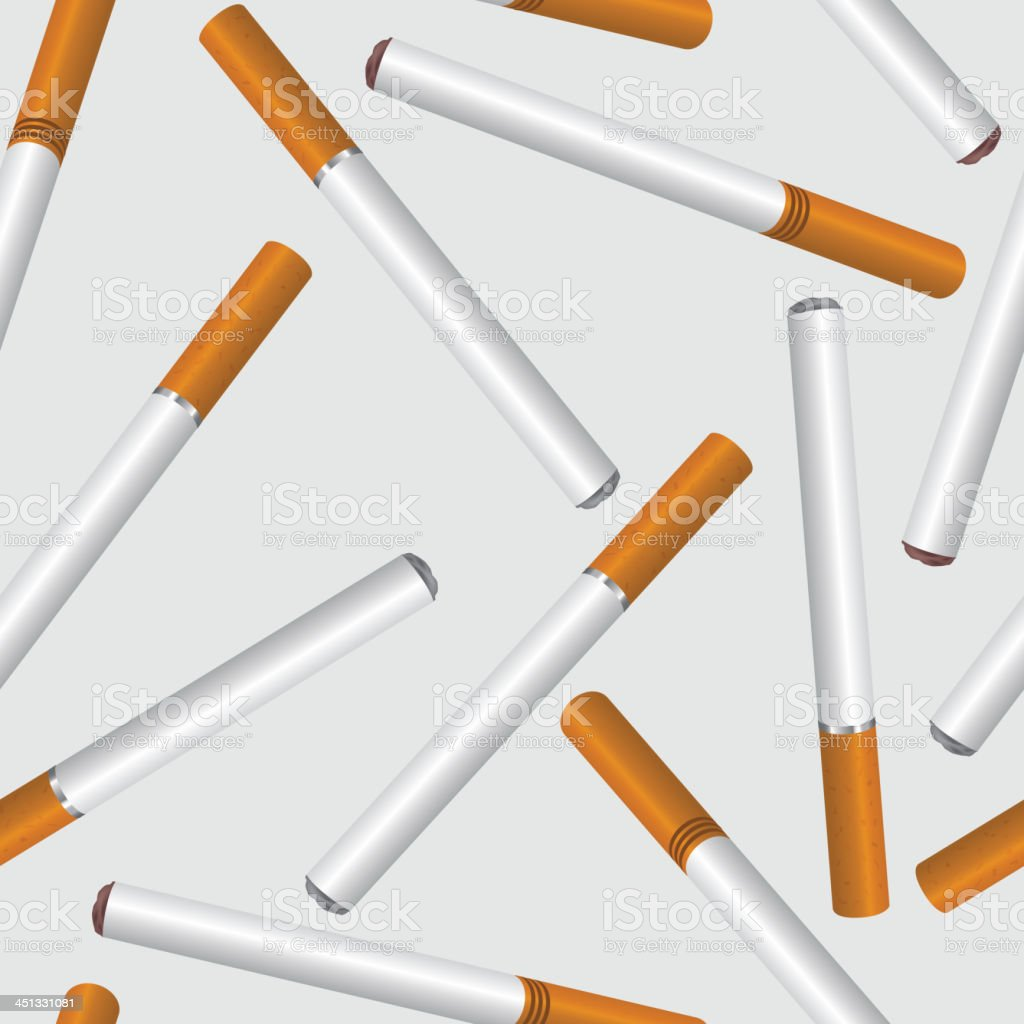 cigarette seamless background royalty-free stock vector art