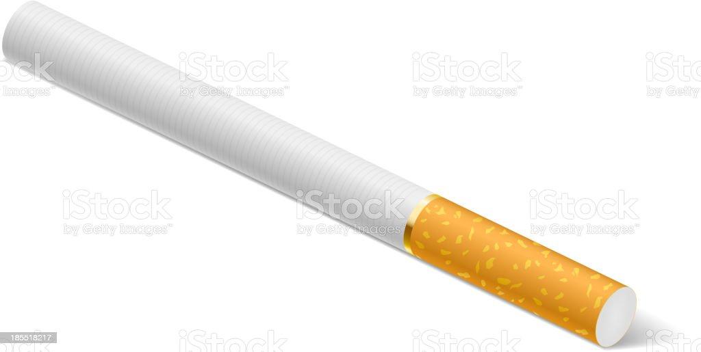 Cigarette royalty-free stock vector art