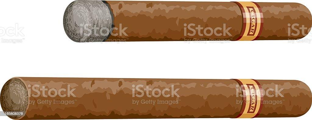 Cigars royalty-free stock vector art