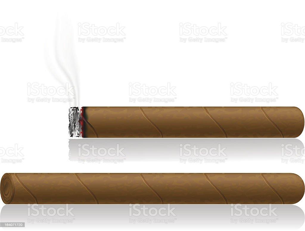 cigars vector illustration royalty-free stock vector art