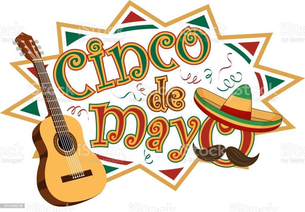 Cinco De Mayo Party Symbol stock vector art 514164216 | iStock