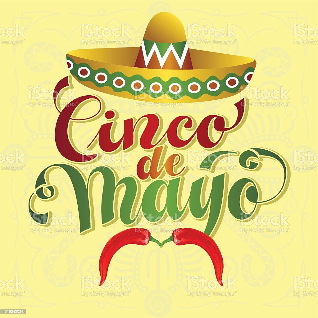 Cinco de Mayo vector art illustration