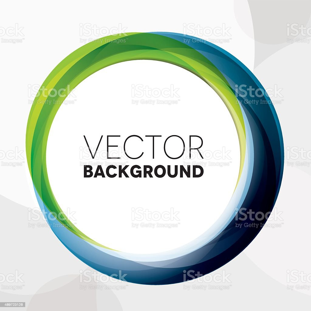 Circle Abstract Background vector art illustration