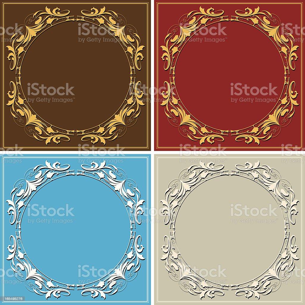 Circle Arabesque royalty-free stock vector art
