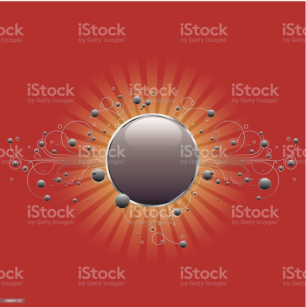Circle Badge royalty-free stock vector art