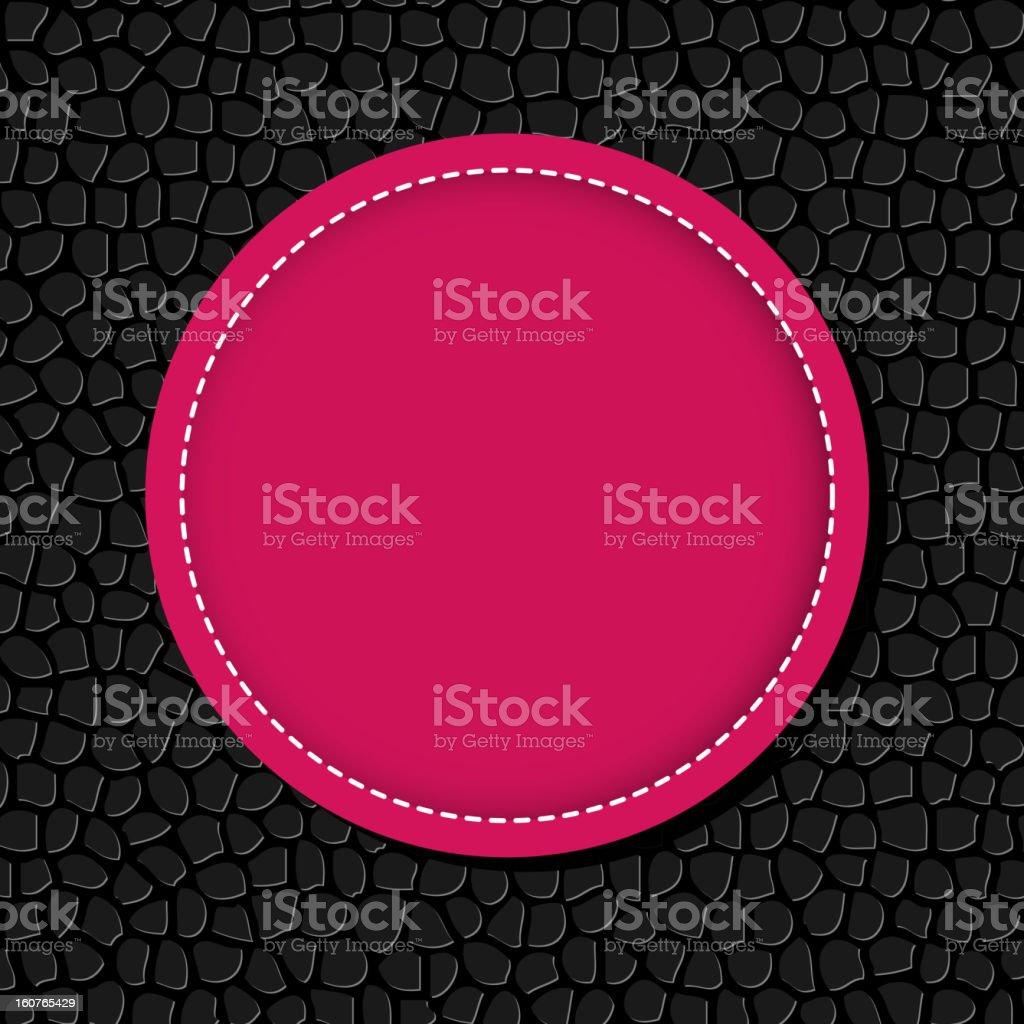 Circle banner vector illustration background royalty-free stock vector art