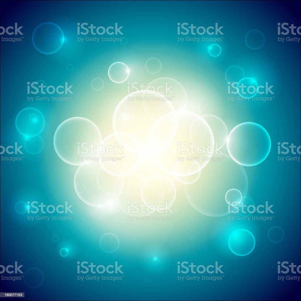 Circle Glow Background royalty-free stock vector art