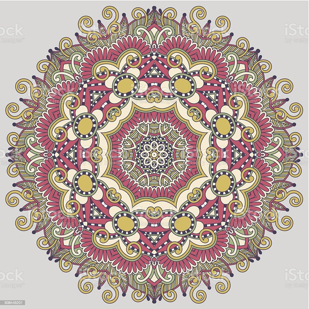 Dekorative Geometrische Muster Interieur
