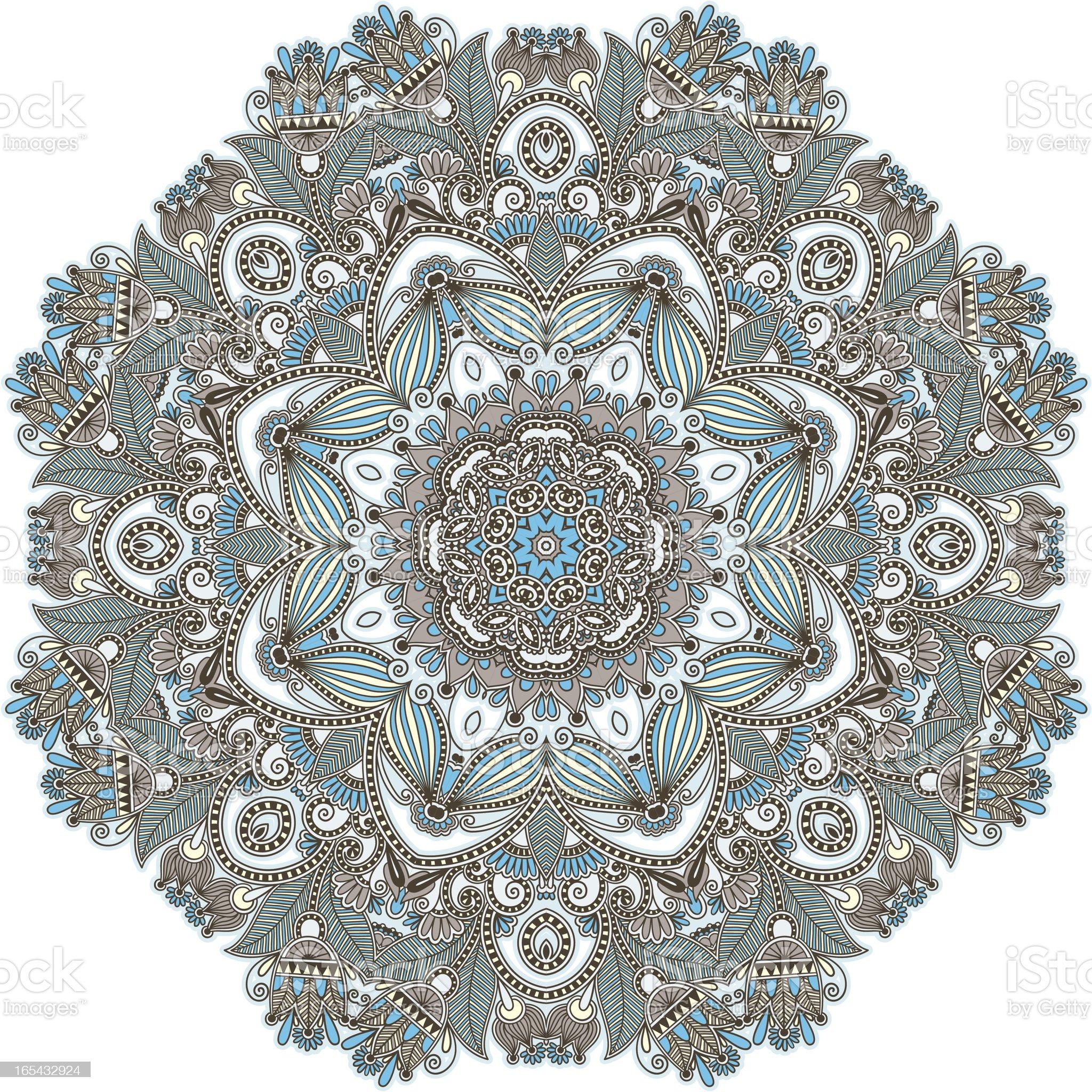 Circle ornament royalty-free stock vector art
