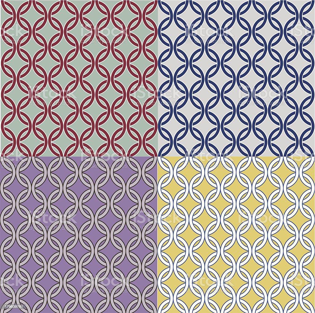 Circle Pattern royalty-free stock vector art