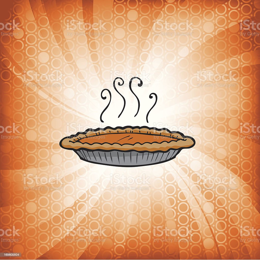 CircleBurst_Pumpkin Pie1 royalty-free stock vector art
