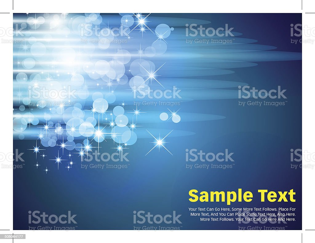 Circles Vector Background Blue royalty-free stock vector art