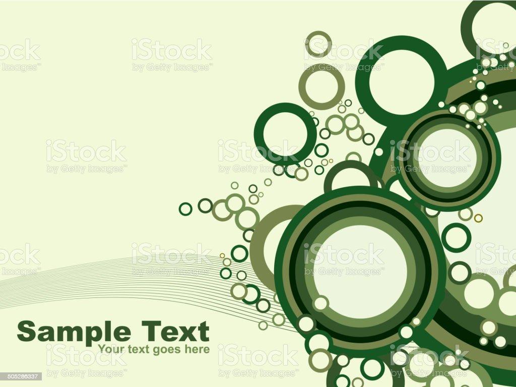 Circles vector design royalty-free stock vector art