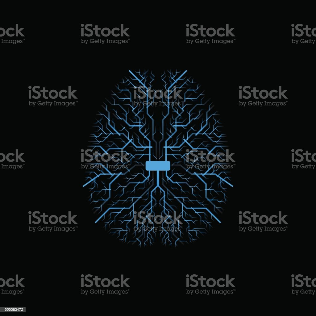 circuit board vector background vector art illustration