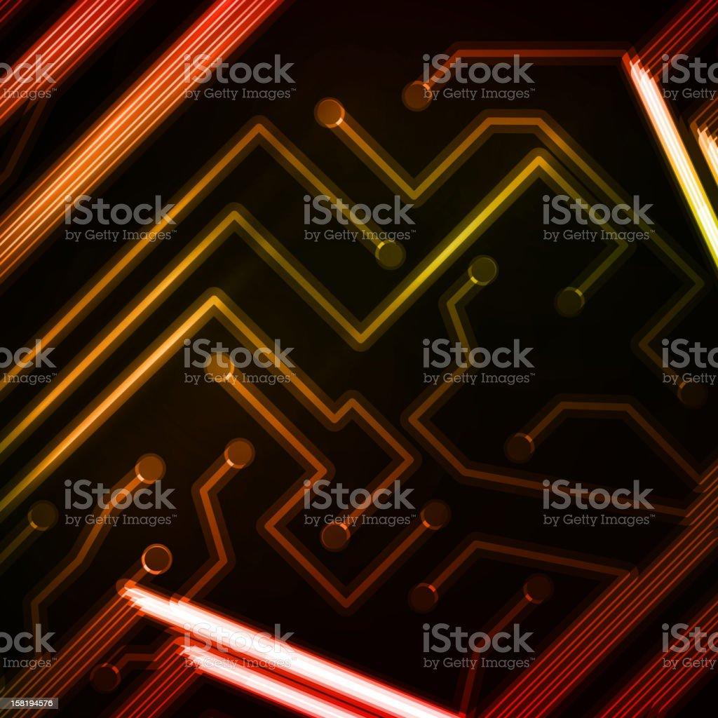 Circuit board royalty-free stock vector art